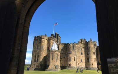 Hadrian's Wall and Alnwick Castle