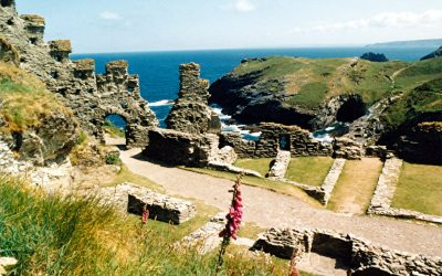 In the footsteps of King Arthur (Tintagel)
